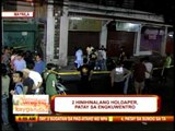 2 suspected robbers killed in Manila