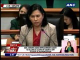 Senators debate release of Corona SALN