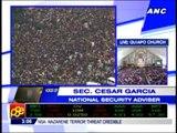 Terror threat casts pall over Nazarene feast