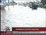 Arroyo visit flooded areas in Pampanga