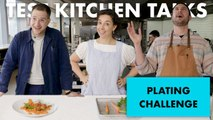 Professional Chefs Challenged to Plate Carrots in 1 Minute