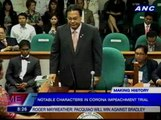Notable characters in Corona impeachment trial