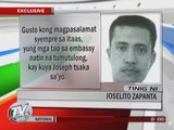 EXCL: Pinoy in Saudi death row ready to face fate