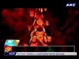 Brazil lights world's largest floating Christmas tree