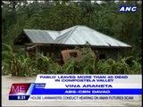 Flashflood kills 43 in Compostela Valley