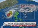 Typhoon 'Pablo' to hit Luzon Sunday, PAGASA warns
