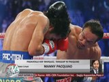 Pacquiao accepts loss to Marquez