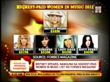 Britney Spears tops Forbes' list of highest paid women in music