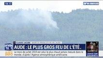"""Incendie dans l'Aude: le maire de Pradelles-en-Val voudrait """"qu'il y ait moins de friches pour qu'il y ait moins d'incendies"""""""