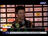 Grosjean wins Race of Champions_BCCOMMA92499633-C7FB-48EF-B86F-39D2E16AABD7_ revels in victory