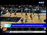 Celtics ruin Nets' Christmas; Lakers beat Knicks