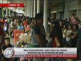 Pinoys head to provinces for Christmas break