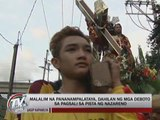Faith, tradition draw devotees to Nazarene procession