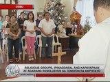 Religious groups call for end to Cebu political crisis