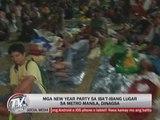 Pinoys flock to New Year parties across Metro Manila