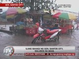 Parts of General Santos City submerged in floods