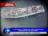 10 meters of Tubbataha Reef damaged by US ship