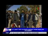 2 Filipinos among those rescued in Algeria