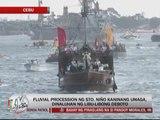 Devotees flock to Sto. Niño fluvial procession