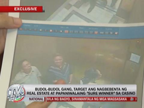 'Budol-budol' gang entices victims with 'sure win' at casino