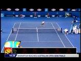 Djokovic barges to Australian Open semis