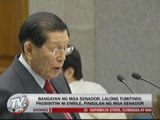 Colleagues reject Enrile's offer to quit Senate presidency
