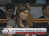 Pia asks JPE: Was I penalized for supporting RH bill?