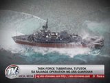 Task Force Tubbataha wants US ship lifted out of reef