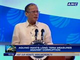 Aquino touts gains vs corruption; not yet certifying FOI bill as urgent