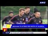 Beckham to attend PSG match at Valencia