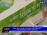 FDA warns public vs whitening products with high mercury levels