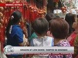 Festivities mark Chinese New Year welcome in Binondo