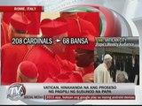 Vatican prepares to choose next pope