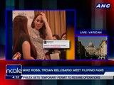 Mike Ross, Troian Bellisario meet Filipino fans