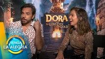 ¿Qué se le complicó a Derbez al grabar Dora y La Ciudad Perdida? | Venga La Alegría