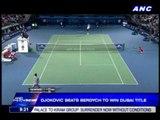 Djokovic beats Berdych to win Dubai title