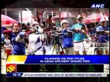 Pinoys vie for titles in Asian Archery Grand Prix
