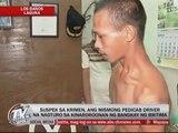 Pedicab driver tagged in killing 11-year old girl in Laguna