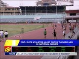 Elite athletes must prove themselves in Nat'l Games