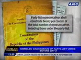 Comelec canvassing of party-list votes enters day 2