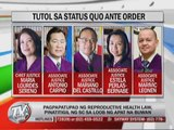 SC halts implementation of RH law