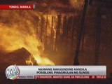 Tondo fire leaves over 500 families homeless