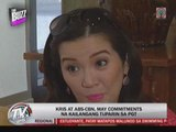 Kris still to fulfill obligations to ABS-CBN