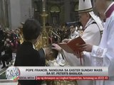 Pope Francis leads first Easter Vigil Mass