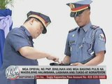 PNP chief to new cops: Be role models