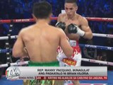 Pacquiao did not expect Viloria's loss