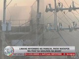 Fire hits public market in Balagtas, Bulacan