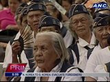 Aquino announces additional benefits for war veterans