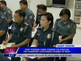 PNP forms task force to focus on missing children cases in NCR