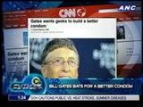 Bill Gates bats for a better condom